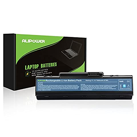ALipower 9 Cell Laptop Battery for Acer Aspire 5735z 5740 5732z 4720z 4736z 5334 4330 4520 4530 5536 57355738 5738z AS10D51 AS10D31 -12 Months (Aspire 4330 Battery)