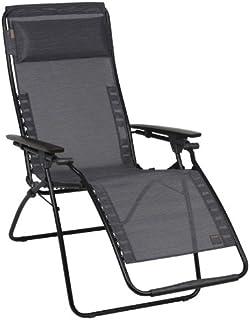 Lafuma Futura Zero Gravity Chair Black Steel Frame Obsidian  sc 1 st  Amazon.com & Amazon.com : Lafuma Evolution Air Comfort Zero Gravity Chair ... islam-shia.org