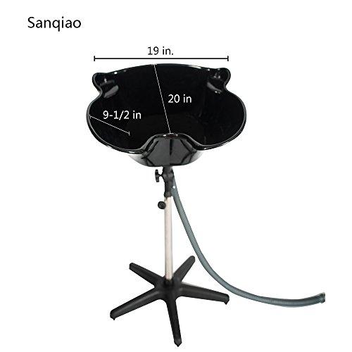 Sanqiao Portable Adjustable Hair Washing Sink Shampoo