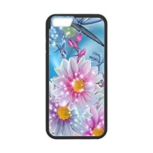 Designed With Sping Flowers Pattern , Fit To iPhone 6,6S Plus
