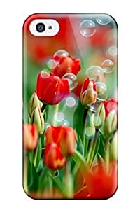 Iphone 4/4s Case Slim [ultra Fit] Wallpaper Of Money Plant Protective Case Cover