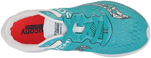 Teal Fastwitch Saucony Women's Shoe White Running FPYS0wq87