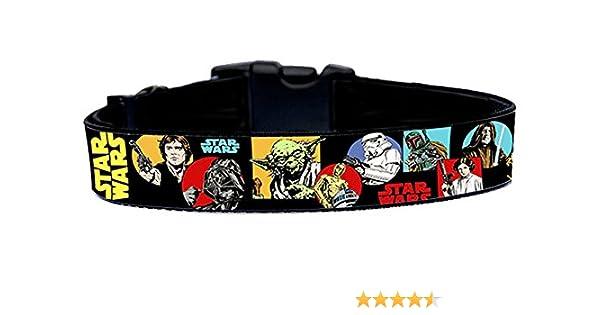 La Guerra De Las Galaxias Star Wars B Collar Perro Hecho a Mano ...