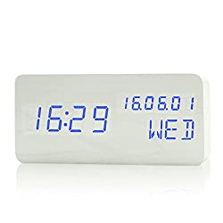 DIDIDD Clock-fashion multi-function digital luminous bedroom bedside alarm clock led,I