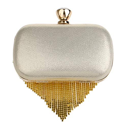 Outfit Bead Ladies Pearls Red Wallet Clutch Wedding Purse Dress Evening Bags Bags Chain Womens qUc17Aw