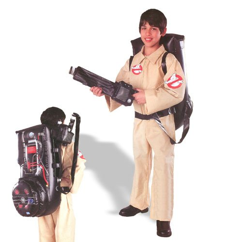 [Ghostbuster Child Costume Child (Medium)] (Ghostbuster Costume Backpack)