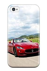 Pauline F. Martinez's Shop 6044756K93940752 Fashion Tpu Case For Iphone 4/4s- Maserati Grancabrio 2 Defender Case Cover