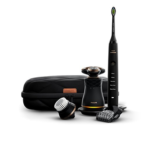Philips Norelco Electric Shaver and Sonicare Rechargeable Toothbrush S8880/88 [並行輸入品] B07N4NDV8X