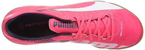 Puma Evospeed 5.3 It - Zapatillas rojo - rojo (bright plasma-white-peacoat 05)