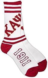 Best Buy Kappa Alpha Psi Fraternity Mens New Athletic Socks White