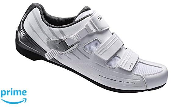 Shimano - Zapatillas de Ciclismo de Carretera de Sintético Adultos Unisex, Color Blanco, Talla 46: Amazon.es: Zapatos y complementos