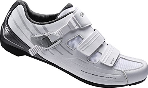 Shimano Rp3 Wide Fit, Zapatillas de Ciclismo de Carretera Unisex Adulto Blanco (White)