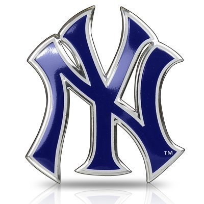 New York Yankees Car Truck SUV Motorcycle Trunk 3D Color Emblem