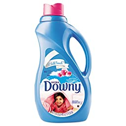 Procter & Gamble Fabric Softener, April Fresh Scent, Concentrate Liquid, 51 oz. Bottle - eight 51-ounce bottles per case.