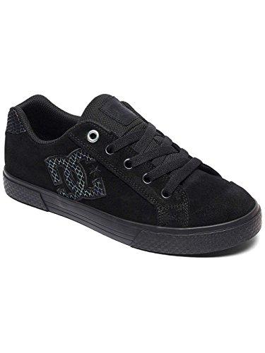 Basses Dc Femme Shoes Chelsea Se Black Sneakers Silver qST4Sxw