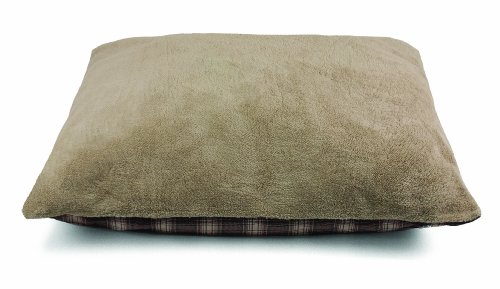Dallas Manufacturing Fleece (Dallas Manufacturing Co. Products Fleece Pet Bed, Brown Plaid, 36 by 45-Inch)