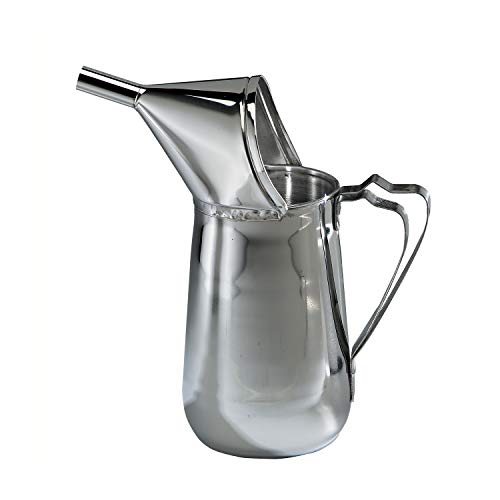 Beach City Wholesalers 1.5 Quart Stainless Steel Funnel Cake ()