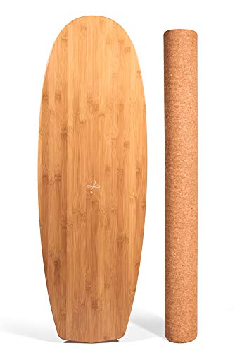 Ebb and Flo by GoofBoard The Minimalist (Hull) Surfing Balance Board - Perfect for SUP/Paddle Board/Kite/Longboard of All Balance Boards for Surfers