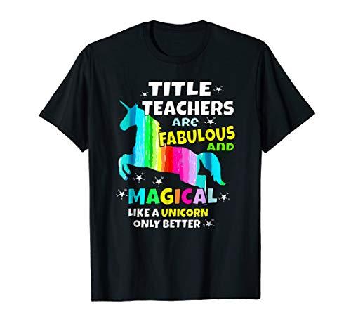 Title Teachers Are Fabulous And Magical LiKe A Unicorn