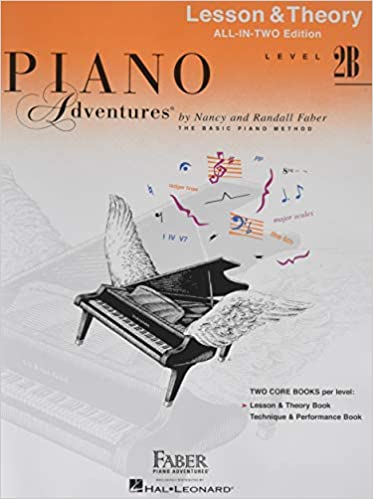 Piano Adventures: Level 2B Lesson And Theory Book - International