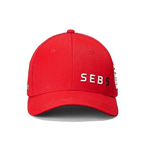 Branded Sports Merchandising B.V. Scuderia Ferrari F1 Sebastian Vettel #5 Red Baseball Hat