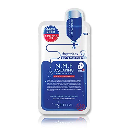 Mediheal N M F Aquaring Ampoule Mask 10 Sheets