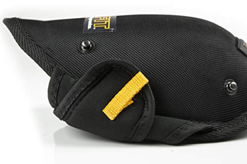 ToughBuilt GelFit Professional Knee Pads - Comfortable Gel Cushion & Heavy Duty Foam Padding, Strong Adjustable Straps, Premium Quality Built to Last (TB-KP-G2) (SnapShell compatible) NEW by ToughBuilt (Image #7)