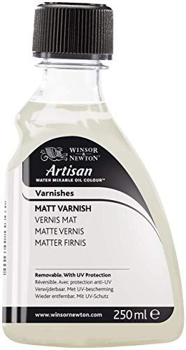 Winsor And Newton Artisan Water Mixable Oil Matt Varnish - 250Ml