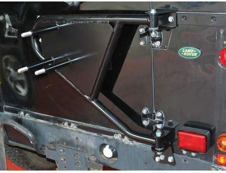Land rover defender 90 s/'adapte à deux côtés noir porte miroir bras BR1913R 110