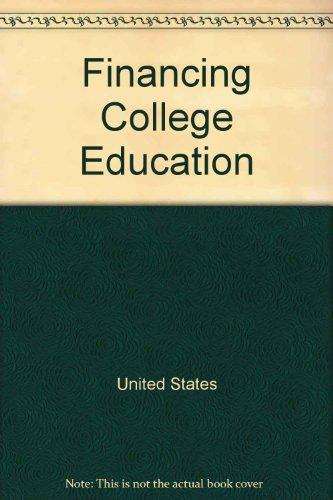 Financing college education (Harper colophon books)