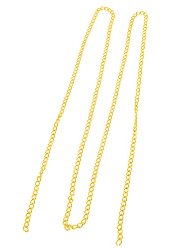 for Ornamental Twist Gold 130cm Tone Long Metallic Handbag Chain PUpwaqnOA