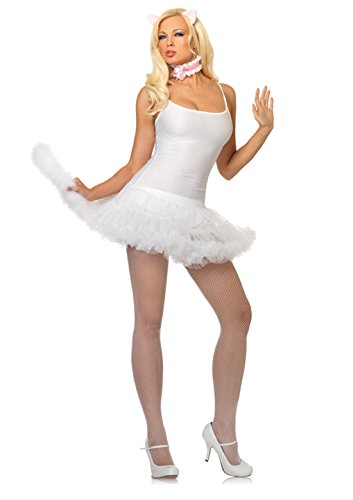 Leg Avenue LA1710 Animae Kitty Kit White -