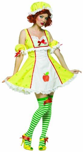 Rasta Imposta Adult Apple Dumplin Costume, One Size Fits ...