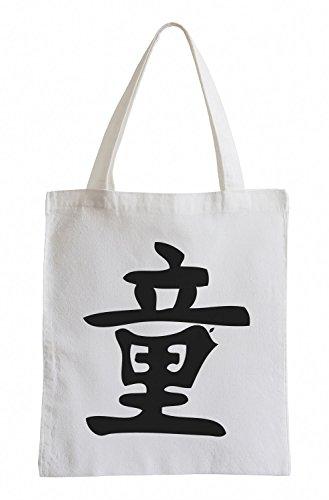 Sacchetto Di Juta J.xx Simbolo Cinese