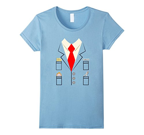 Womens Train Conductor Halloween Costume Shirt Large Baby Blue - Infant Conductor Costume