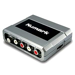 Numark Stereo IO - Interfaz de audio USB con conversión analógico-digital