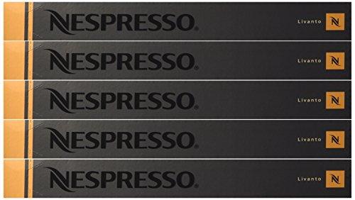 Nespresso OriginalLine Capsules: Livanto, 50 Count - ''NOT compatible with Vertuoline''