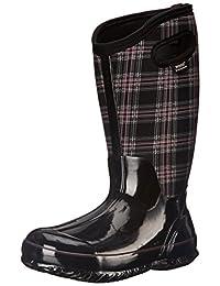 Bogs Women's Classic Winter Plaid Wide Calf Snow Boot