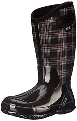 Amazon.com | Bogs Women's Classic Winter Plaid Wide Calf