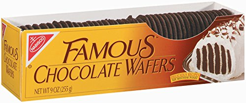 Nabisco, Famous Chocolate Wafers, 9oz Container (Pack of 4)