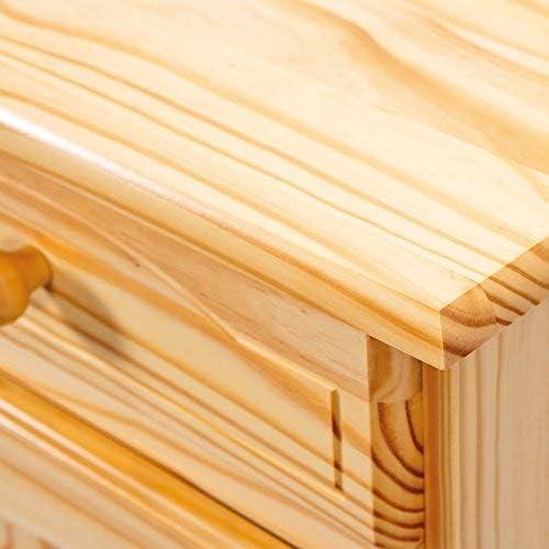 Inter link Pamina Sideboard 2-Doors Pamina Natural Varnished, 88 x 87 x 43 cm Natural