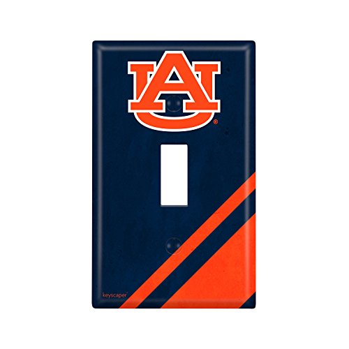 - Auburn Tigers Single Toggle Light Switch Cover NCAA