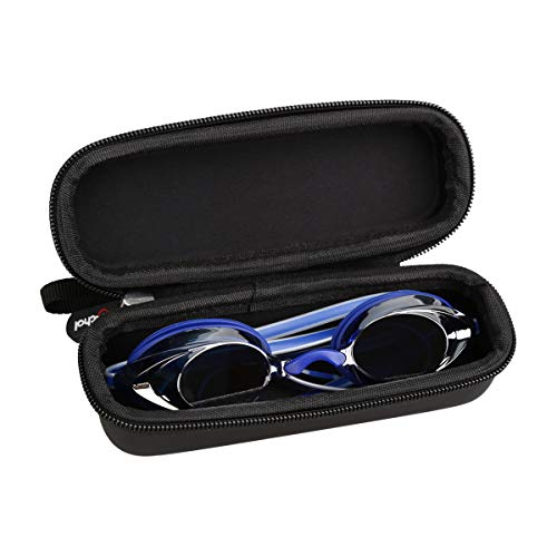 (Mchoi Hard Portable Case Fits for Speedo Vanquisher 2.0 Mirrored Swim Goggle)