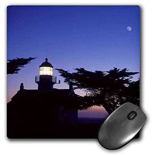 Point Pinos Lighthouse - 3dRose Danita Delimont - Lighthouses - Point Pinos Lighthouse, Pacific Grove, Monterey, California - Mousepad (mp_314722_1)