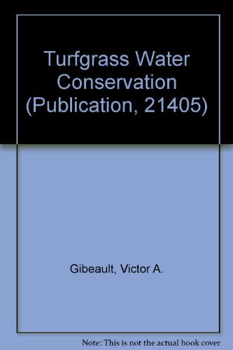 Turfgrass Water Conservation (Publication, 21405)