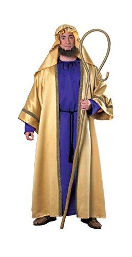 Costume Men Joseph For (Rubie's Men's Biblical Joseph Costume, Adult, Purple/Gold, One)