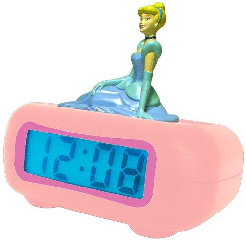 Disney Princess Alarm Clock (Disney Princess DC94240 LCD Alarm Clock (Pink))