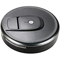 Robotic Vacuum Sweeper, Household Smart Automatic Floor Cleaner for Home and Pet Hair (Cool Gray)