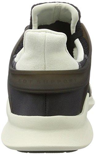 adidas Equipment Support ADV, Zapatilla de Deporte Baja del Cuello Para Mujer Negro (Core Black/clear Aqua/granite)