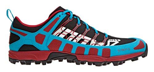 Inov-8 X-Talon 212 Trail-Running Shoe, Black/Blue/Chili, 11.5 M US
